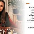 WFM Karácsonyi Kata novemberben és decemberben is a sakkvilág csúcsán - Élen a 2006-ban született lányok FIDE világranglistáján