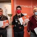 Kozák Ádám nyerte az aradi sakk-fesztivált  - Arad International Chess Festival 2020-09-25 - 30 - A 4. kiemelt GM Kozák Ádámmal (9/7, Élő: +9)