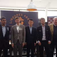 LIVE! - Lindores Abbey Chess Stars Tournament  2019 MAY 25-26 - Carlsen, Karjakin, Anand, Ding