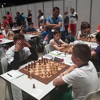 Végeredménnyel - European Youth Team Chess Championship 2019 -  Pardubice, Czech Republic. - 2019-07-11 - 18 - Bronzérmes lett a 2. kiemelt U-12-es magyar csapat