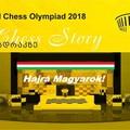 LIVE! -13:00 - 43rd Olympiad Batumi 2018 - VI. Forduló - Férfiak: Ausztrália 1-3  Magyarország, Hölgyek: Magyarország 3.5-0.5 Grúzia 3