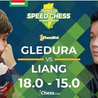 Junior Speed Chess: Gledura Benjáminnal - Szép volt Bendzsi! Gratulálok! - Következik: Jeffery Xiong (Élő: 2684)