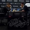 LIVE! - 16:00 -  Carlsen 2 - 2 Caruana World Chess Championship, London 2018-11-09 - 11-27 - Rövidülnek a játszmák:  Az első tovább tartott (115 lépés), mint a 2.-3. (49-49 lépés) összesen, a 4. csak 34 lépésig