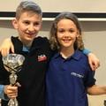 Holland-magyar gyerekek : Nitrauw Peter és Sterk Ralf -  végeztek az élen a Holland Korosztályos Sakk-bajnokság regionális döntőjében és jutottak tovább az országos döntőbe