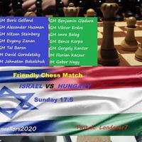 Csonka Balázs közvetítette: Magyarország 56-108 Izrael  - Borisz Gelfanddal , Erdős Viktorral, Gledura Benjáminnal