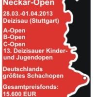 Magyarok a nagy világban - Rapport győzelmével ért véget - 17. Int. Neckar Open 2013-03-28 - 04-01.