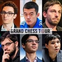 2020 Grand Chess Tour - 2020 - 05-05 - 15 Bukarest, 06 -24 - 28 Párizs, 07 - 04 - 08 Zágráb, 08 - 25 - 29 St. Louis, 08 - 31 - 09 - 10 St. Louis