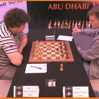 Végeredménnyel - The 25th Abu Dhabi International Chess Festival takes place from 7-15 August 2018 in Abu Dhabi, UAE - A 2. helyen kiemelt Rapport Richárddal 9/6.5