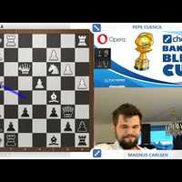 Banter Blitz Cup - Magnus Carlsen beats Pepe Cuenca 8.5:0.5  - Videó