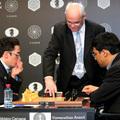 Ha nem láttad volna az Anand - Caruana meccset tegnap...