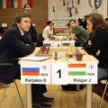Polgár Judit vs Karjakin