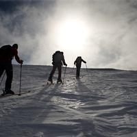 Sítúra hóviharban a Stuhleckre és a Salamandra völgybe