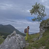 Világháborús bunker falu a Szlovén Alpokban