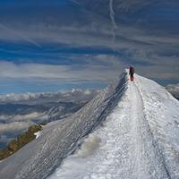 Mont Blanc csúcsrajáratva