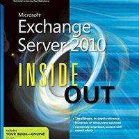 Microsoft Exchange Server 2010 Inside Out Ebook Rar