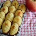 Almás madeleine