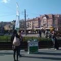 Moszkva tér - pártok gyűlése