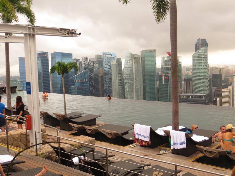 Egy napom a Marina Bay Sands Hotelben - 5 dollárból