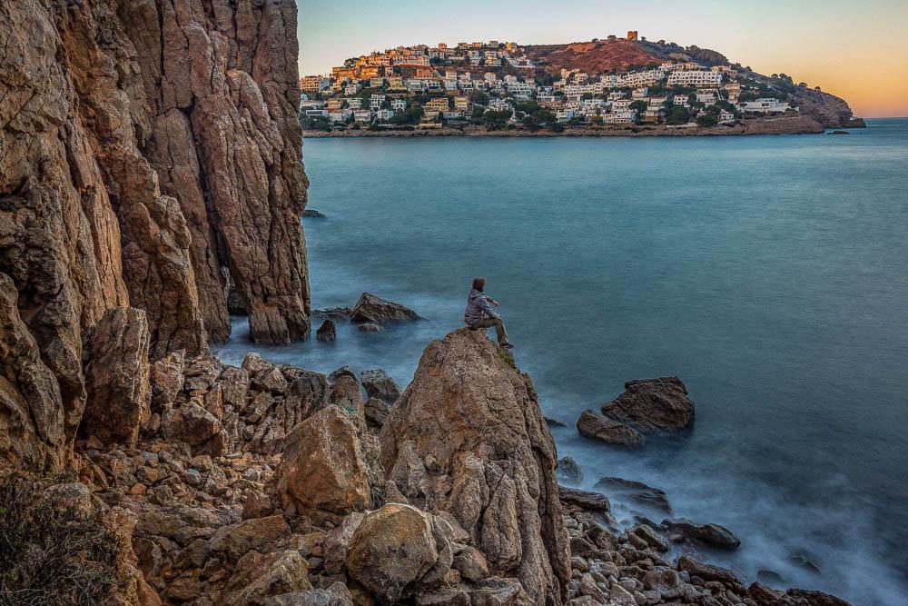 A Costa Brava éppen néptelen üdülővárosai