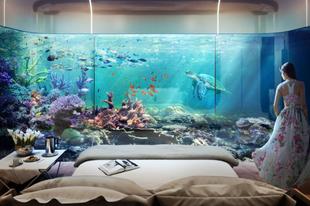 A világ 10 legizgalmasabb otthona: a tenger mélyén és a levegőben!