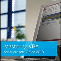 Mastering VBA For Microsoft Office 2013 Mobi Download Book
