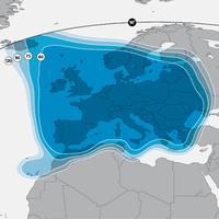 Az Astra 1N (keleti 19,2 fok) vétele Európában