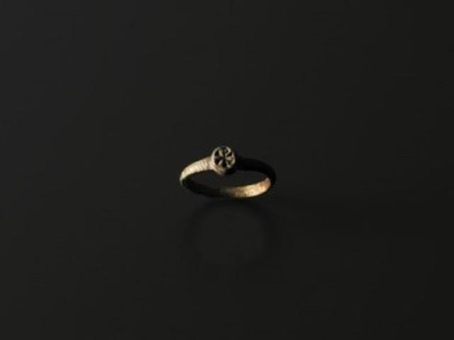 Ókeresztény gyűrű az Iseumból