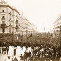 Babérlevél és cipruság Kossuth Lajos koporsójáról