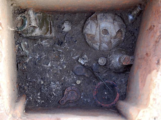 Hamvasztásos sír Savariából