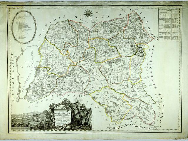 A rézmetszés hazai virtuóza készítette a szombathelyi egyházmegye első térképét
