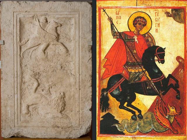 Antik hősök - keresztény szentek