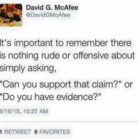 #napitanulság 6 - Udvariatlan lenne bizonyítékot kérni?