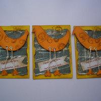 Madár ATC kártya