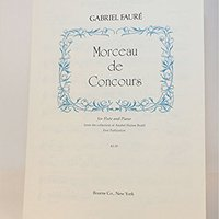 :BEST: Morceau De Concours For Flute And Piano From The Collection Of Anabel Hulme Brieff [First Publication Sheet Music]. sistema nueva bonica after Trinley Stroke