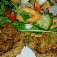 Sült szejtán salátával - Cukros diétám 4