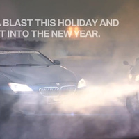 Harcias kararácsony BMW-vel
