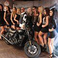 A Harley-Davidson kisorsolja átépített motorját