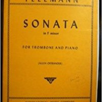 //IBOOK\\ Sonata In F Minor For Trombone And Piano  Includes Bassoon Or Baritone (Telemann). diseno online United Futures kinning White North