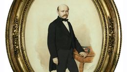Canzi Ágoston (1808–1866): Semmelweis Ignác eljegyzési portréja