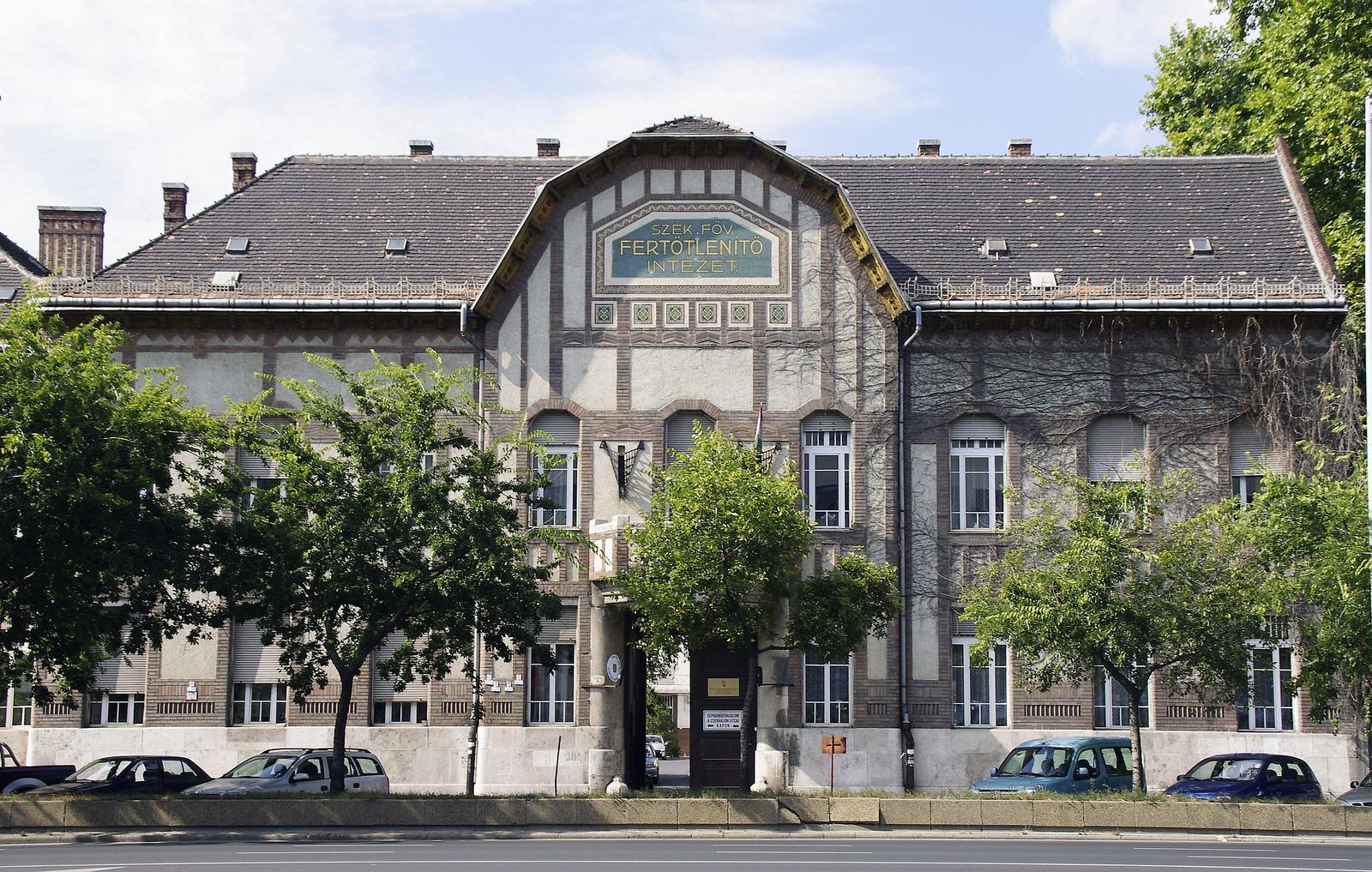A budapesti Fertőtlenítő Intézet