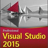 Professional Visual Studio 2015 Books Pdf File