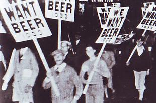 Házi sör a szesztilalom idején