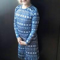 Rakott aljú ruha villás módszerrel ;)