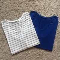 Letölthető szabásminta: férfi V nyakú, ujjatlan trikó XXL-es méretben
