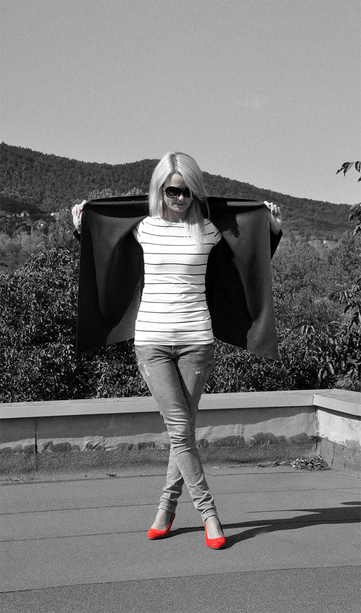 Waterfall kabát: szabásminta szerkesztése, varrása