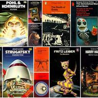 Vissza a jövőbe - retro sci-fi könyvborítók