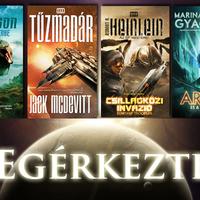 Megérkezett a Galaktika négy új könyve!