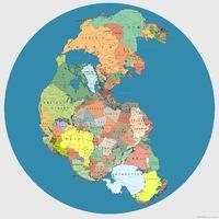 A Föld országai 250 millió évvel ezelőtt