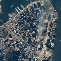 Űrfotók a 9/11 emlékére