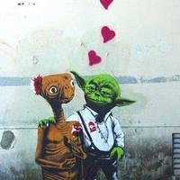 A nap képe: Galaktikus street art